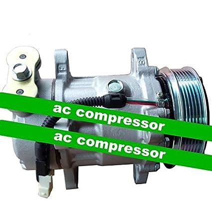 GOWE AC Compresor para 6 V12 AC Compresor para Peugeot 206 1.4L Bomba de aire