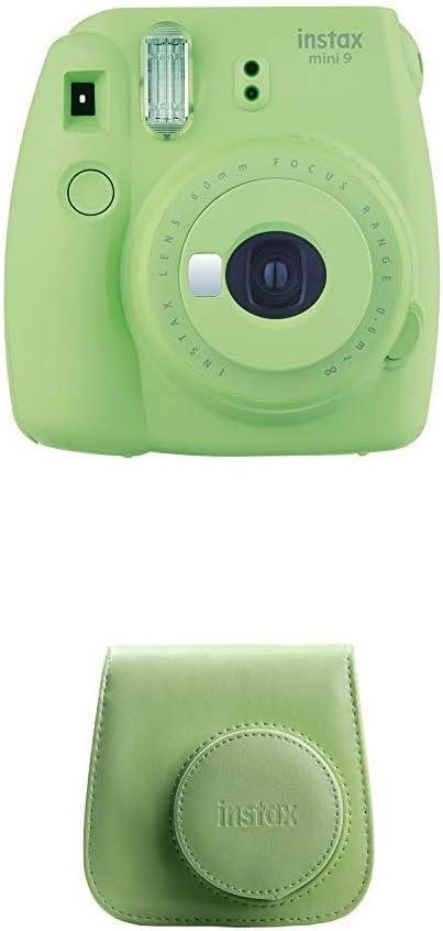 Fujifilm Instax Mini 9 Kamera Lime Grün Mit Tasche Kamera