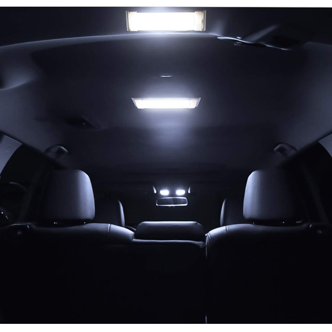 2 Unidades + 2 Cables Extendidos 72 LED Iluminaci/ón Interior para RV//Camper//Trailer//Motorhome//Van//Boat con Interruptor de Encendido//Apagado SUPAREE Luces de Techo LED RV de 12 V-80 V