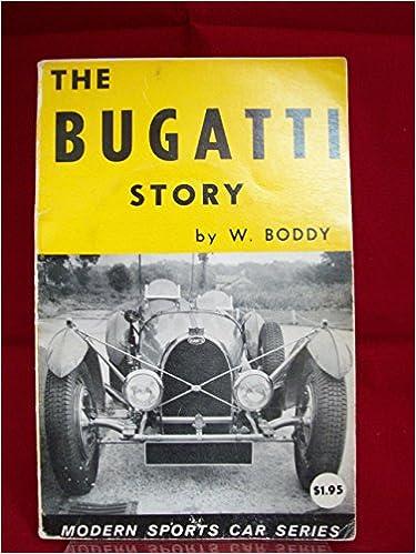 Amazon.com: The Bugatti story (Modern sports car series ...