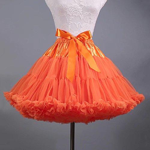 BEIJG BEIJG naranja Vestido Vestido para mujer rqrTCW