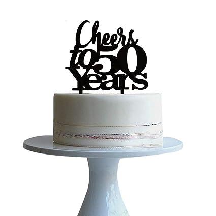 Decoración para tarta de 50 años para 50 años de amor ...