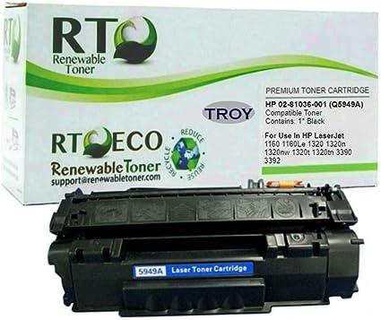 Troy Micr Toner Secure Black  Laser jet 02-81036-001