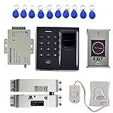 Baoblaze Standalone 500 Users Fingerprint 10 Pcs RFID ID Card Reader Door Access Controller Security