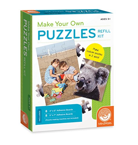 Direct 68327 MindWare Make Your Own Puzzles Refill Game Pro-Motion Distributing