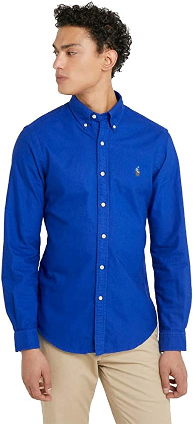 Ralph Lauren Camisa Oxford Slim Fit: Amazon.es: Ropa y accesorios