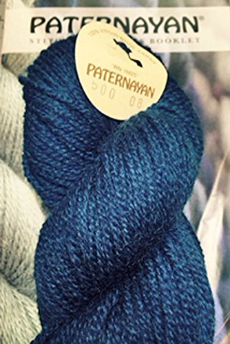 Paternayan Needlepoint 3 Ply Wool Yarn Color 500 Federal Blue Mini 8 Yard Skein 2 Skeins With This Listing