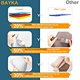 BAYKA Inflatable Queen Air Mattress with Built-in