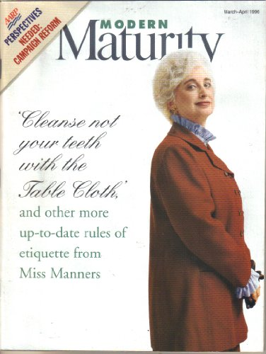 Aarp Modern Maturity, March-April 1996 for sale  Delivered anywhere in USA