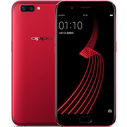 OPPO R11 5.5 Inch Smartphone Android 7.1 16.0MP + 20.0MP Dual Rear Cam + 20.0MP Front Cam Snapdragon 660 FHD Screen 4GB 64GB VOOC Flash Charge (Red)