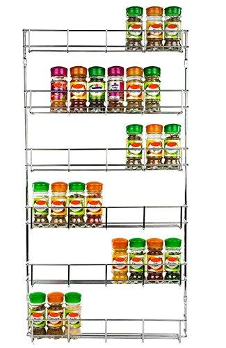 Nice 6 Tiers Door Spice Rack Organizer Shelf Jar Kitchen Cabinet Cupboard Wall  Mount Storage By EStoreShop