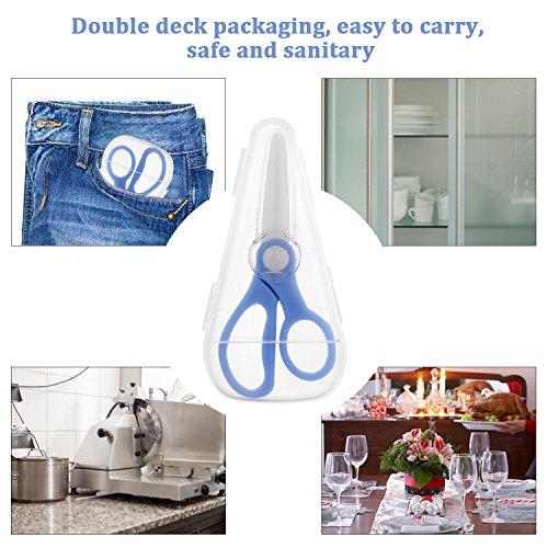Love&Mini Premium Safety Portable Cutter - Ceramic Scissors Healthy Baby Food Scissors by Love&Mini (Image #2)