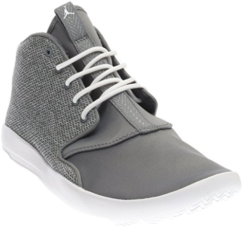 JORDAN KIDS JORDAN ECLIPSE CHUKKA BG GREY WHITE COOL GREY-WHITE SIZE 5.5 by NIKE