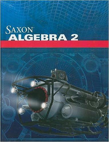 Amazon saxon algebra 2 student edition 2009 9781602773035 saxon algebra 2 student edition 2009 1st edition fandeluxe Image collections