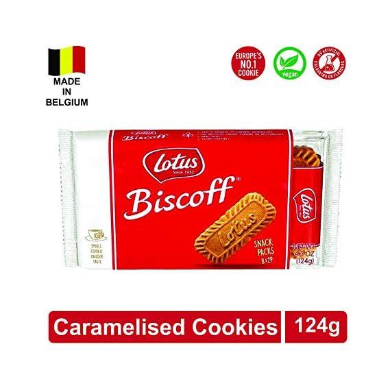 Lotus Biscoff -The Original Caramelised, Biscuit, 124 GMS