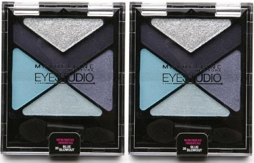 (EyeStudio Color Explosion Luminizing Eyeshadow #20 BLUE BLOWOUT (PACK OF 2) BY MAYBELLINE)