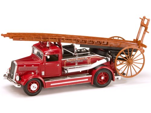 - Yat Ming Scale 1:43 - 1938 Dennis Light Four Fire Engine