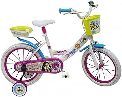 Soy Luna Vélo 16 Pouces Blanc | Licence Officielle Disney Channel ...