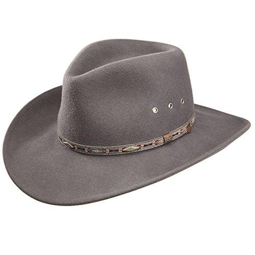 - Stetson Elk Horn Wool Cowboy Hat (X-Large)