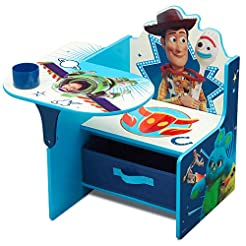 Children Chair Desk with Storage Bin, Di...
