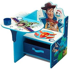 Delta Children Chair Desk with Storage Bin – Ideal for Arts & Crafts, Snack Time, Homeschooling, Homework & More, Disney…