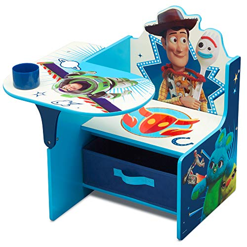 Delta Children Chair Desk with Storage Bin, Disney/Pixar Toy Story 4