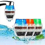 tlongtea65 Activated Carbon Home Kitchen Faucet Tap Water Clean Mini Pro Purifier Filter