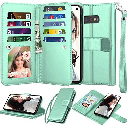Njjex Galaxy S10E Wallet Case, for Samsung Galaxy...