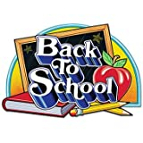Beistle 55824 Back to School Sign, 18 by 25-Inch