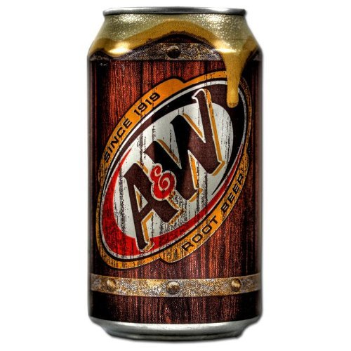 - A & W root beer of 355ml