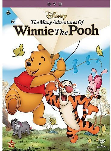 The Many Adventures of Winnie the Pooh from Walt Disney Video