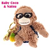 Baby Coco Plush Doll Keychain (Glasses/Coco) offers