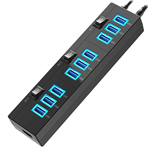 Hhusali SuperSpeed 10 Port Switches indicator product image