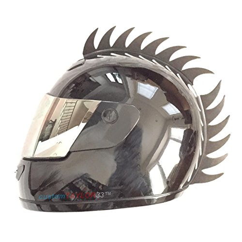 d654e8e0 customTAYLOR33 Warhawk/Mohawk Rubber Saw Blade Helmet Accessory Piece ( Helmet Not Included)