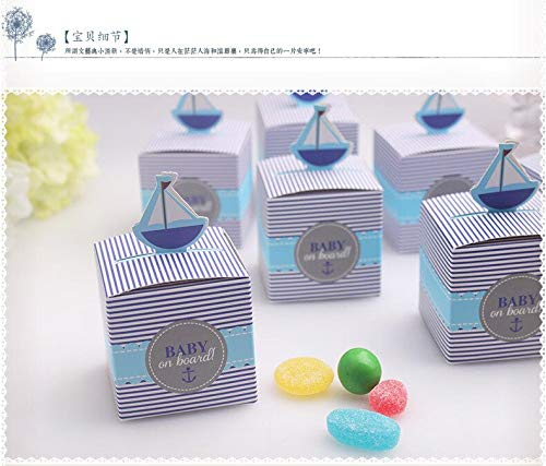 Baby On Board - Blue Quot Baby On Board Pop Up Sailboat Candy Favor Boxes Box Dhl Fedex 2000pcs Lot - Shirts Spanish Before Signs Up Windows Hawaii For License Animal (Disney Pin King Candy)