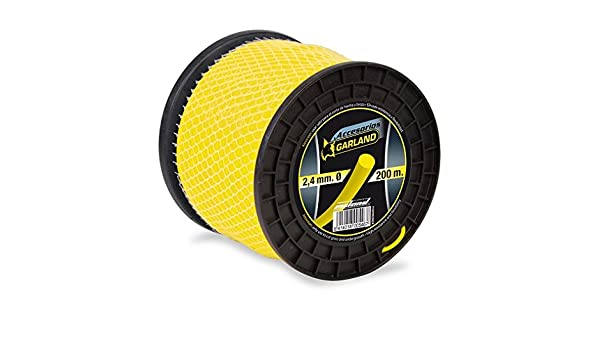 Garland - Bobina nylon 200m diámetro 2,4mm: Amazon.es ...