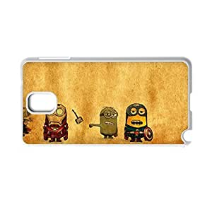 Design With Despicable Me Minions For Galaxy Samsung Note3 Durable Back Phone Case For Child Choose Design 9