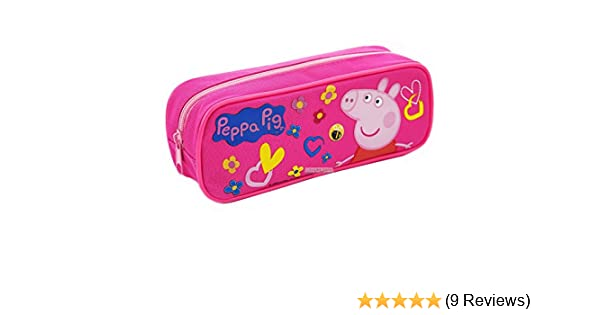Amazon.com : Peppa Pig Authentic Licensed Pencil Case (Pink) : Office Products