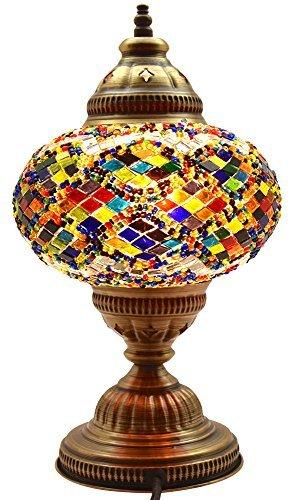 New* BOSPHORUS Stunning Handmade Turkish Moroccan Mosaic Gla