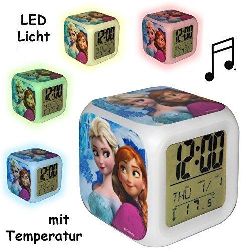 LED Licht - Kinderwecker Digital -