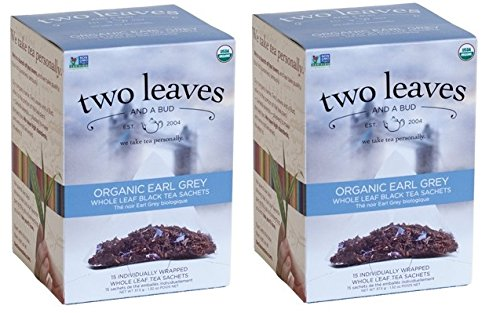 (Two Leaves and a Bud Organic Earl Grey (30 bags))