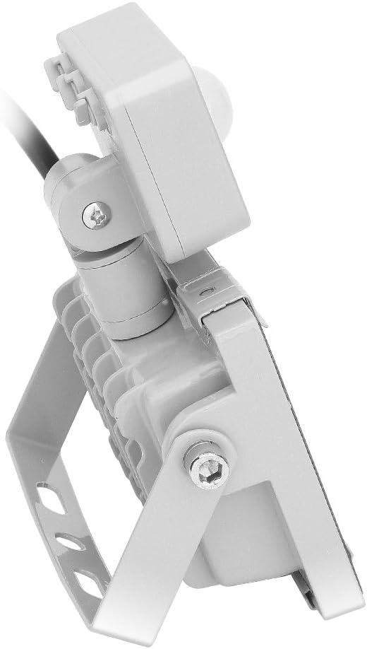 Clase de eficiencia energ/ética A+ Proiettore a LED 20W Faretto LED con Sensore di Movimento 1600lm Proiettore LED Esterno Impermeabile IP65 6000K Bianco Freddo proiettore per cortile garage officina