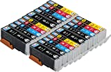 20 Pack Skia Compatible CLI251 PGI250 XL Ink Cartridges for PIXMA MX922, Compatible with Canon iP7220, iX6820, MG5420, MG5422, MG5520, MG5522, MG5620, MG6420, MG6620, MX722