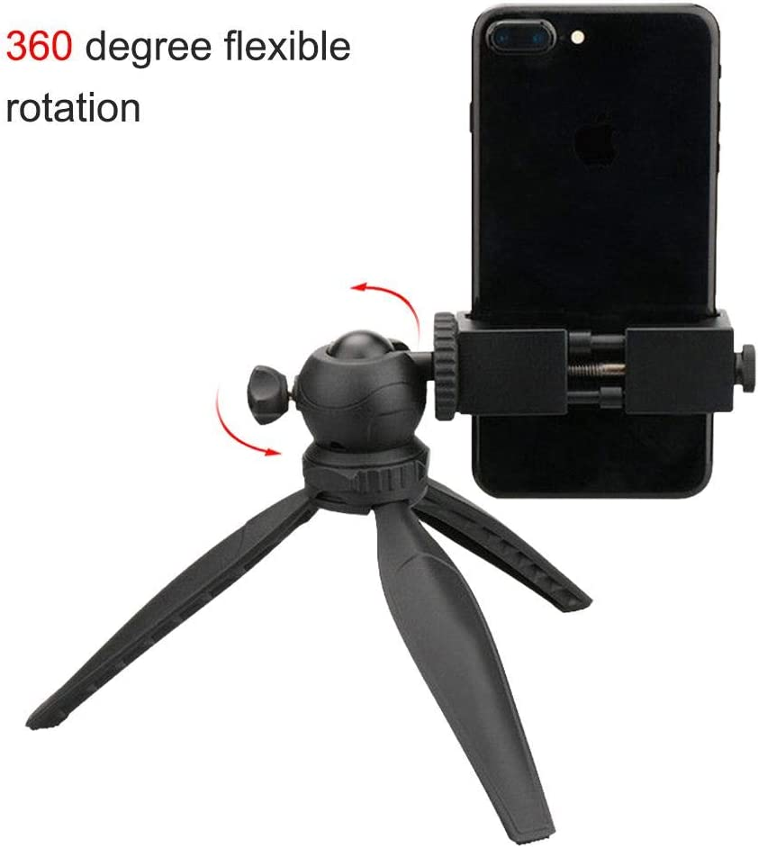 Mini Camera Tripod,Ballhead Tripod Ulanzi MT-03 Pocket Mini Desktop Tripod,360 /° Removable Ballhead 1//4 Screw,Monopod Time-Lapse Photography Stand,Portable Folding Gimbal Tripod