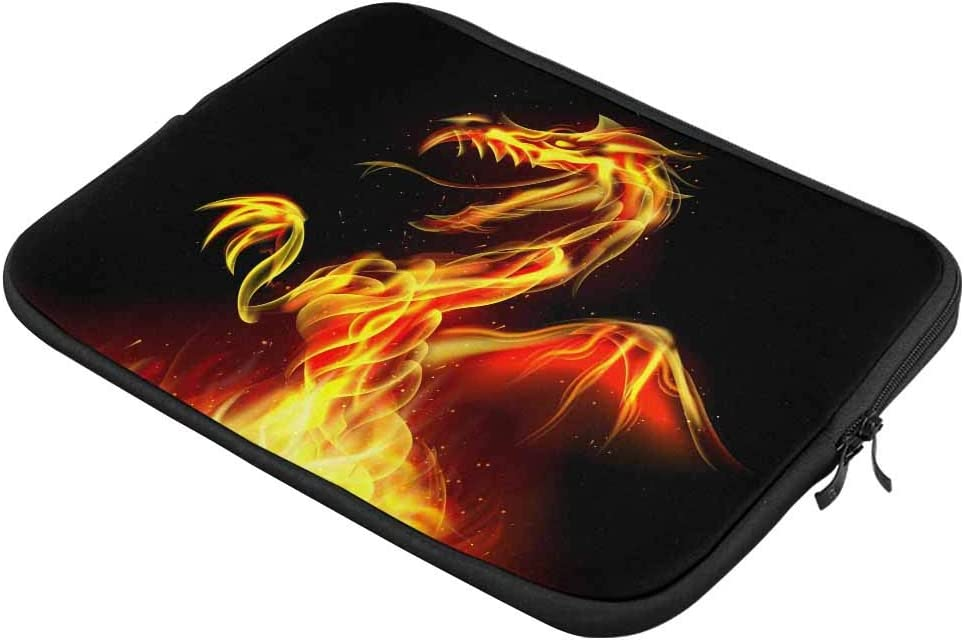 Dragon Fire Laptop Sleeve Case 15 15.6 Inch Briefcase Cover Protective Notebook Laptop Bag