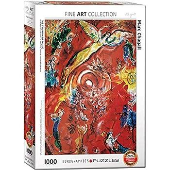 Amazon.com: EuroGraphics Marc Chagall Le Violoniste Bleu ...
