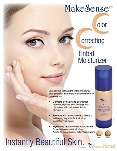 Color Correcting Tinted Moisturizer (Light) by SenseCosmetics