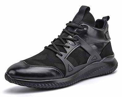 メンズカジュアルランニングシューズ2018秋冬新迷彩メッシュエントラ通気性運動靴