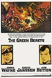 JOHN WAYNE THE GREEN BERETS movie poster WAR FILM collector's item 24X36 (reproduction, not an original)