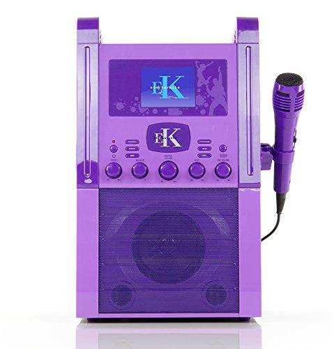 Easy Karaoke EKS515 Purple Band Set Karaoke Machine